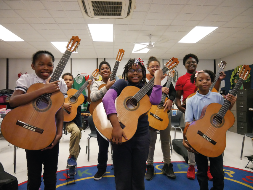 The Students of Larimore Elementary School - St. Louis, MO